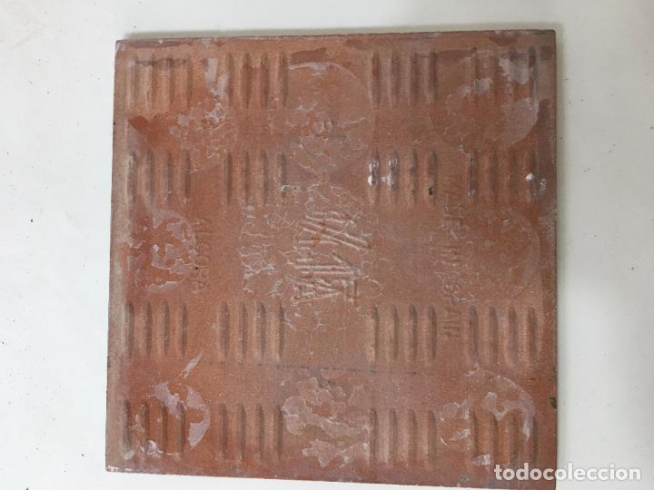Segunda Mano: AZULEJO DE 15 X 15 CM. TRAJE TIPICO DE MALLORCA - Foto 2 - 82489564