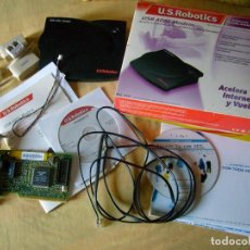 Segunda Mano: LOTE DESPIECE AÑO 2000-2005 USB ADSL MODEM U.S. ROBOTICS INTERNET BANDA ANCHA WINDOWS 98/2000/XP. Lote 83603968
