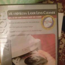 Segunda Mano: LIMIPIADOR DE LENTES LASER PARA DVD CD Y CONSOLAS DE JUEGOS -REFM3E2. Lote 83771564