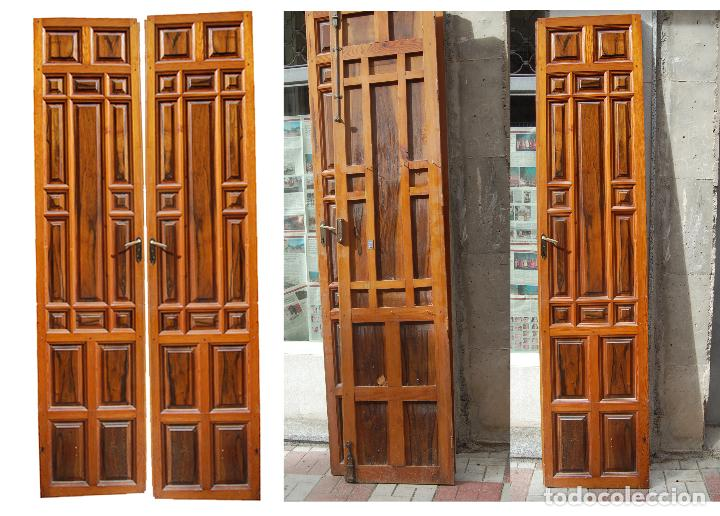 Ocho puertas o cuatro pares portones antiguos comprar for Decoracion hogar segunda mano