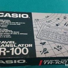 Segunda Mano: CALCULADORA CASIO TR-100,TRADUCTOR . Lote 86150568