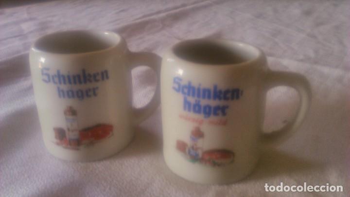 Segunda Mano: Lote de 2 jarritas de porcelana,schinken hager. miniatura - Foto 2 - 86871440