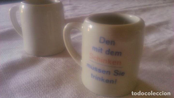 Segunda Mano: Lote de 2 jarritas de porcelana,schinken hager. miniatura - Foto 3 - 86871440