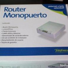 Segunda Mano: ROUTER MONOPUERTO DE TELEFONICA. Lote 87161668