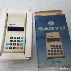 Segunda Mano: CALCULADORA SANYO CX 8073 - VINTAGE - FUNCIONA. Lote 87166892