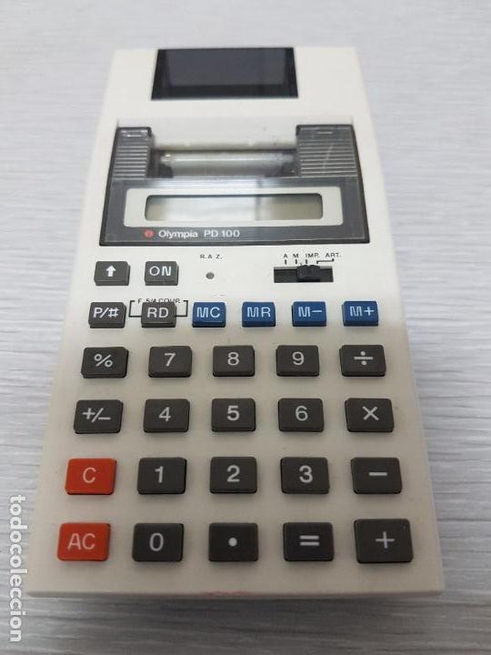 CALCULADORA OLYMPIA PD 100 (Segunda Mano - Artículos de electrónica)