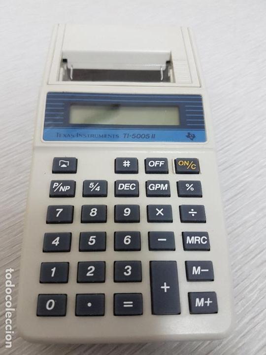 CALCULADORA TEXAS INSTRUMENTS TI-5005 II (Segunda Mano - Artículos de electrónica)