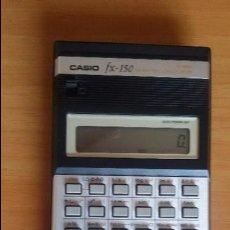 Segunda Mano: CALCULADORA CIENTÍFICA CASIO FX-150 CON CAJA, FUNDA Y MANUAL DE INSTRUCCIONES.. Lote 88382660