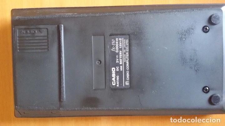 Segunda Mano: Calculadora Científica Casio FX-150 con caja, funda y manual de instrucciones. - Foto 3 - 88382660