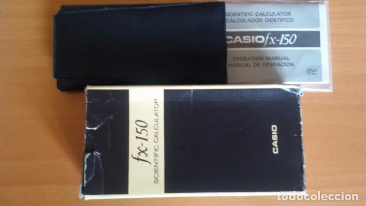 Segunda Mano: Calculadora Científica Casio FX-150 con caja, funda y manual de instrucciones. - Foto 4 - 88382660