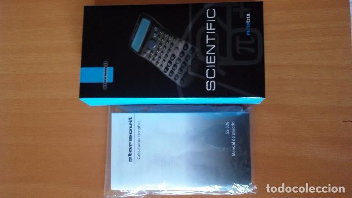 Segunda Mano: Calculadora Científica Starmovil modelo Metatrix SS 529, con tapa protectora, caja e instruccion - Foto 2 - 88385996