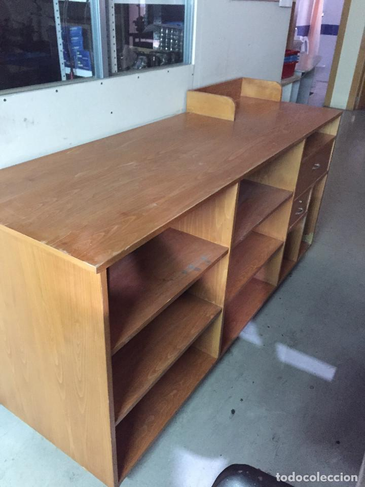 Mostrador de madera comprar art culos de segunda mano de hogar y decoraci n en todocoleccion - Mostradores para negocio ...