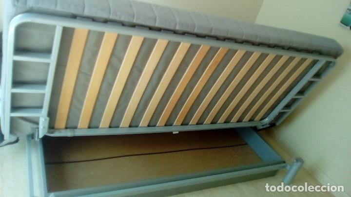 segunda mano sofa cama ikea plazas cama grande como nuevo foto