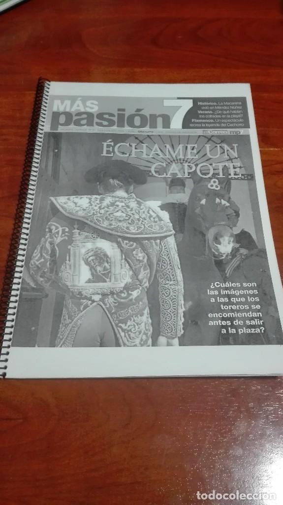 REVISTA MAGAZINE COFRADE MAS PASION (Segunda Mano - Otros)