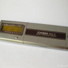 Segunda Mano: CALCULADORA CASIO MQ-2 MICRO COMPUTER QUARTZ - FUNCIONANDO. Lote 90674190