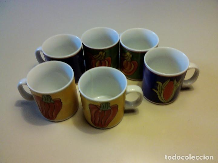 JUEGO 6 TAZAS DE CAFE (Segunda Mano - Hogar y decoración)