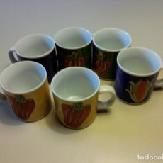 Segunda Mano: JUEGO 6 TAZAS DE CAFE. Lote 91478960
