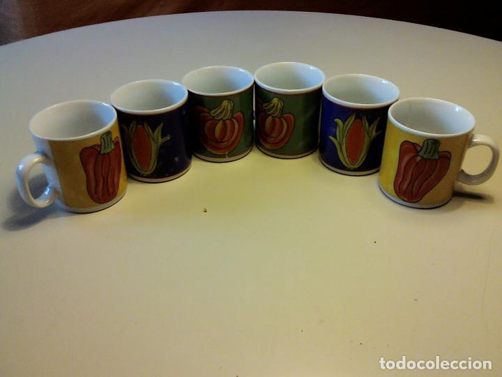 Segunda Mano: JUEGO 6 TAZAS DE CAFE - Foto 2 - 91478960