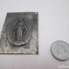Segunda Mano: A-155 / PLACA RELIGIOSA 1830 EN PLATA - MUY RARA!!!. Lote 91537730