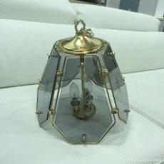 Segunda Mano: LAMPARA DE 5 CRISTALES. Lote 93781445