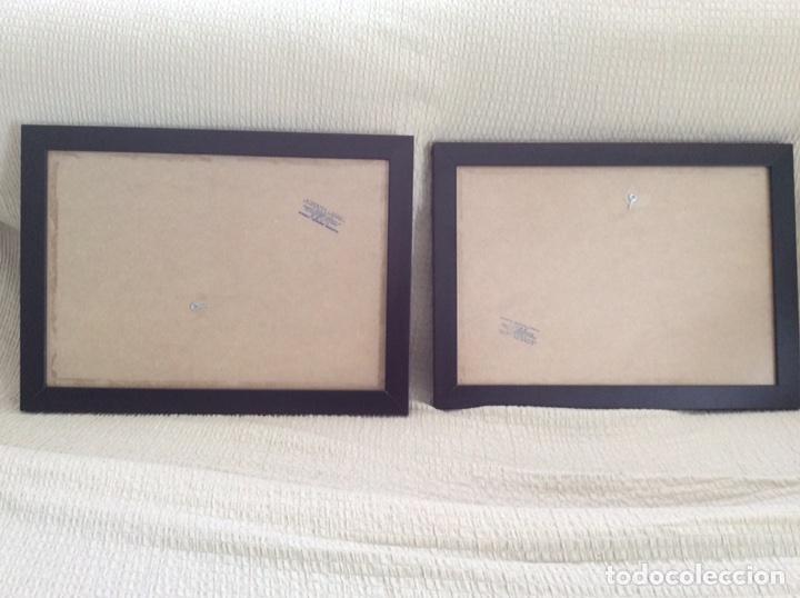 2 marcos de madera para cuadros - Comprar artículos de segunda mano ...