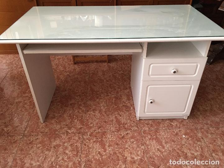 escritorio lacado en blanco de tablero d m c comprar