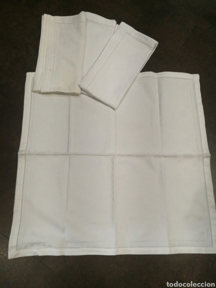 Segunda Mano: Mantel blanco de algodón - Foto 3 - 71126921