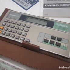 Segunda Mano: CALCULADORA CASIO CB-80 CHECKBOOK. Lote 95547532