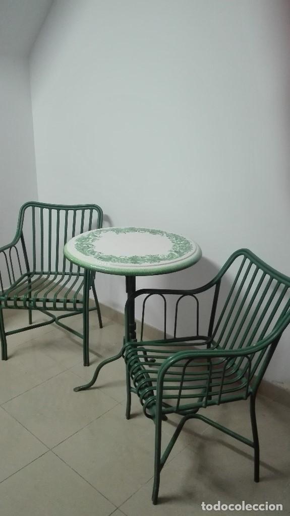 Sillas mesa jard n de unopiu muebles jardin comprar for Muebles de jardin segunda mano