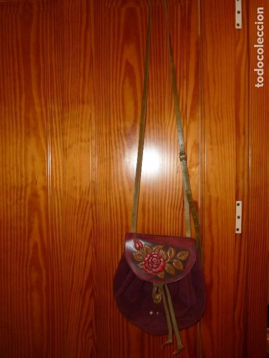Segunda Mano: Original bolso en piel serraje - Foto 2 - 95632643