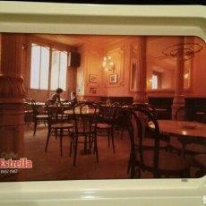 Segunda Mano: BANDEJA METÁLICA CAFÉS LA ESTRELLA. Lote 95774187
