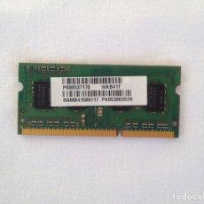 Segunda Mano: MEMORIA RAM TOSHIBA NB500 1 GB. Lote 96345386