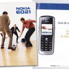 Segunda Mano: NOKIA 6021 – MANUAL DE INSTRUCCIONES ESP (2007). Lote 96547103