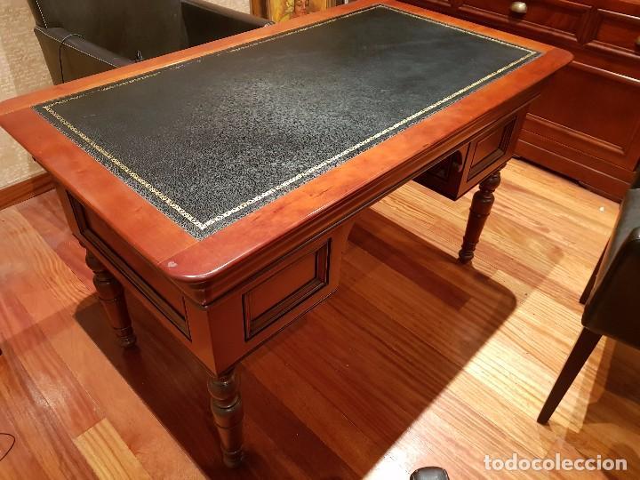 Mesa despacho estilo ingles ideal para despach comprar art culos de segunda mano de hogar y - Mesas despacho segunda mano ...