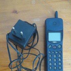Segunda Mano: TELEFONO MOVIL NEC MPSB2F1-1C CLASE 4 AÑOS 90 USADO LA BATERIA NO CARGA.. Lote 97810231