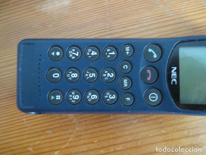 Segunda Mano: TELEFONO MOVIL NEC MPSB2F1-1C CLASE 4 AÑOS 90 USADO LA BATERIA NO CARGA. - Foto 9 - 97810231