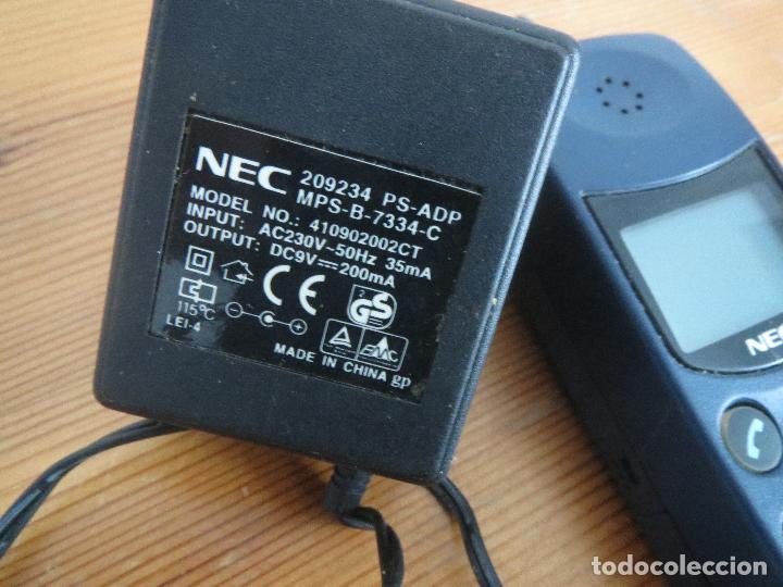 Segunda Mano: TELEFONO MOVIL NEC MPSB2F1-1C CLASE 4 AÑOS 90 USADO LA BATERIA NO CARGA. - Foto 12 - 97810231