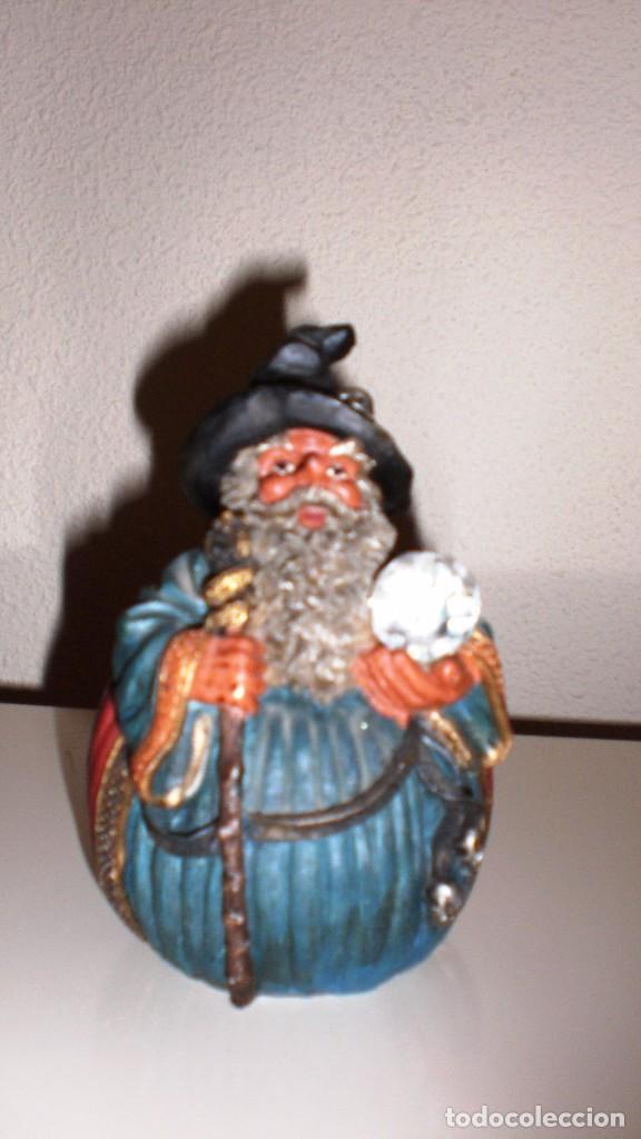 FIGURA MAGO HECHICERO (Segunda Mano - Hogar y decoración)