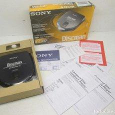 Segunda Mano: SONY DISCMAN D-170AN, CON CAJA, COMO NUEVO Y FUNCIONANDO, SONY 1997. Lote 98710323