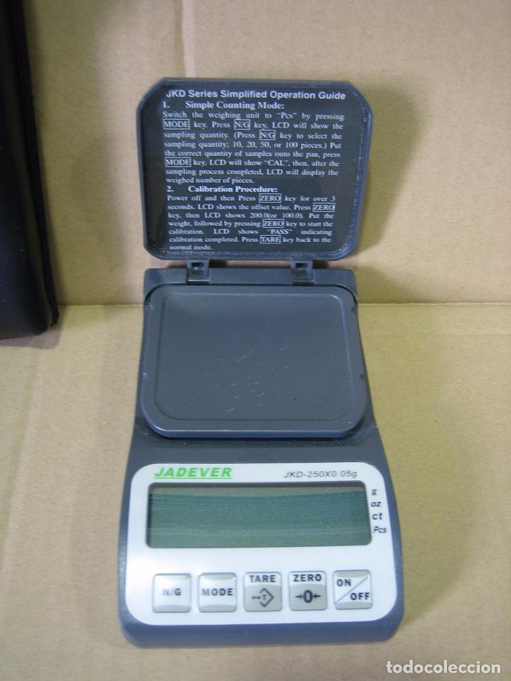 Segunda Mano: Balanza de precisión Jadever JKD-250x0,05 gr. Taiwán.Puede estar averiada - Foto 2 - 98761803