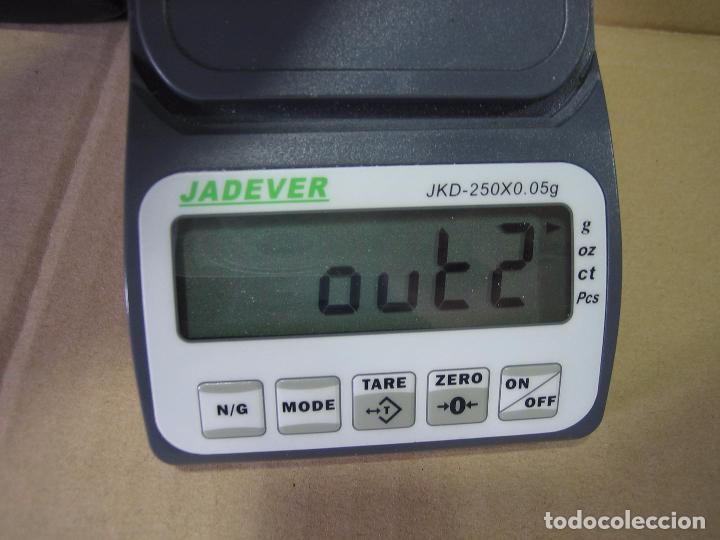 Segunda Mano: Balanza de precisión Jadever JKD-250x0,05 gr. Taiwán.Puede estar averiada - Foto 4 - 98761803