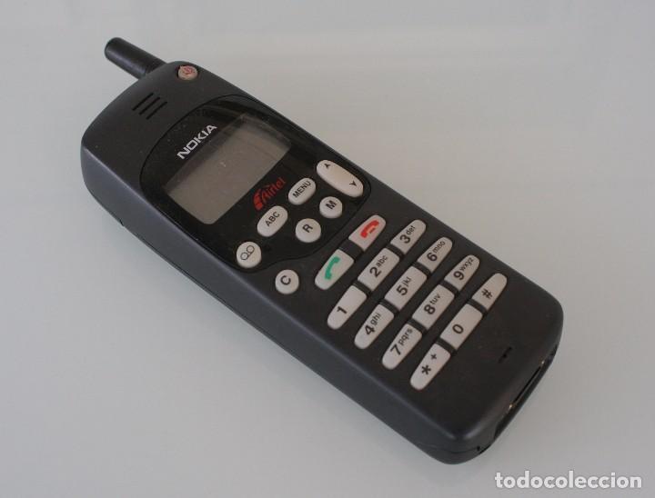 ANTIGUO TELEFONO MOVIL LADRILLO NOKIA AIRTEL MODELO NHE-5NX PARA COLECCIONISTAS (Segunda Mano - Artículos de electrónica)