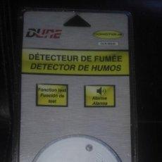 Segunda Mano: DETECTOR DE HUMOS DUNE EN14604. Lote 100417907