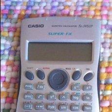 Segunda Mano: CALCULADORA CIENTÍFICA CASIO FX-3950P SCIENTIFIC CALCULATOR SUPER FX. Lote 100460215