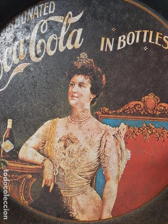 Segunda Mano: BANDEJA PUBLICIDAD COCA COLA ( REPRODUCIÓN DE LOS AÑOS 10/20 ) - Foto 3 - 101907903