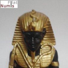 Segunda Mano: INCENSARIO - SOPORTE PARA QUEMAR BARRITAS AROMATICAS Y CONOS - MOTIVO EGIPCIO. Lote 104192643