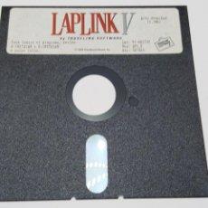 Segunda Mano: DISQUETE 5.25 LAPLINK V BY TRAVELING SOFTWARE. ALTA DENSIDAD. 1993. Lote 104405780