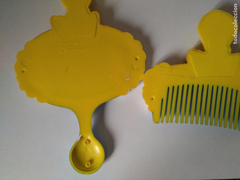 Segunda Mano: espejo y peine piolin - looney tunes - oficial warner bros - 1995 - Foto 2 - 104916387