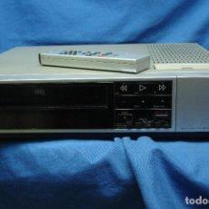 Segunda Mano: VIDEO VHS MARCA JVC HR-D150-E CON MANDO - REVISADO Y FUNCIONA. Lote 105215735