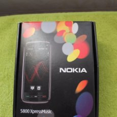 Segunda Mano: CAJA TELEFONO NOKIA 5800 XPRESS MUSIC-VACIA. Lote 105312435